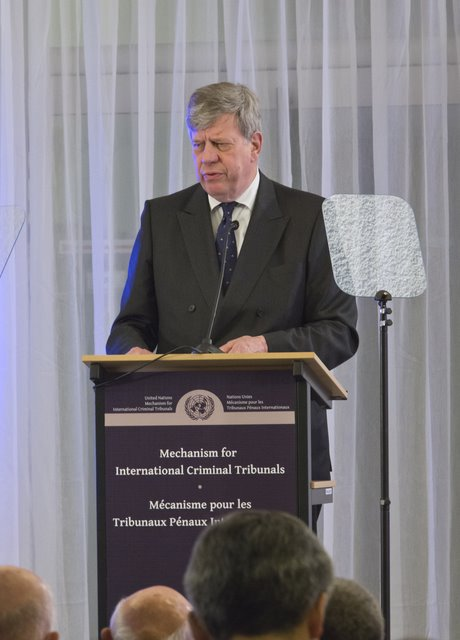 Mr. Ivo Opstelten, Minister of Security and Justice of the Netherlands