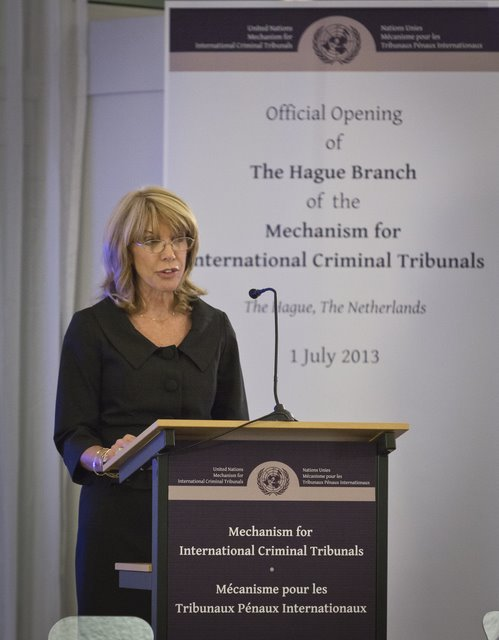 Ms. Patricia O'Brien, United Nations Under-Secretary-General for Legal Affairs