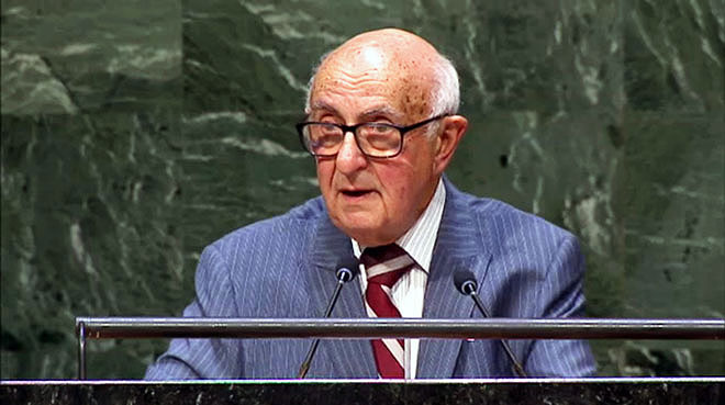 President of the Mechanism for International Criminal Tribunals, Judge Theodor Meron