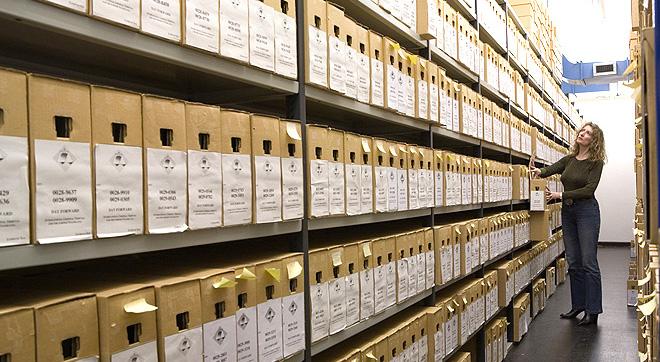Archives vault