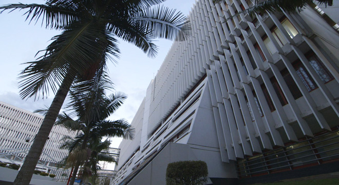 Photograph of the ICTR building