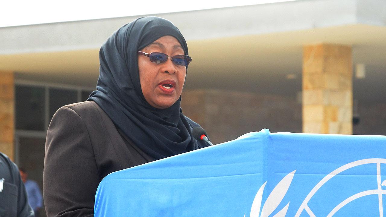 Tanzanian Vice President, Mrs Samia Suluhu Hassan