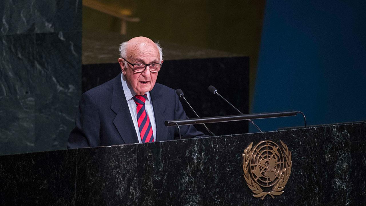 The President Judge Theodor Meron