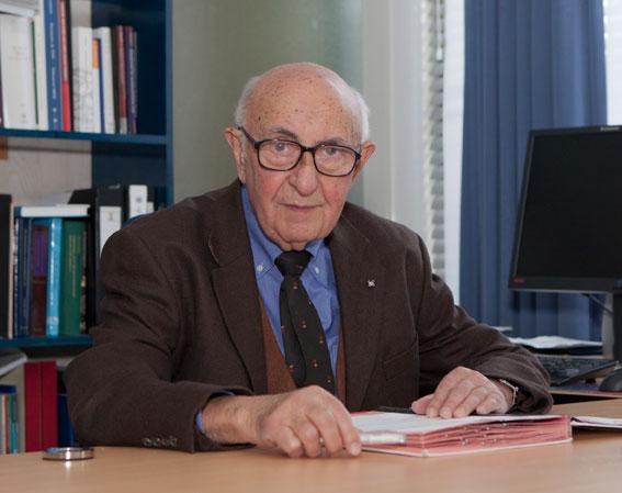 Le Juge Theodor Meron, Président du Mécanisme pour les Tribunaux pénaux internationaux