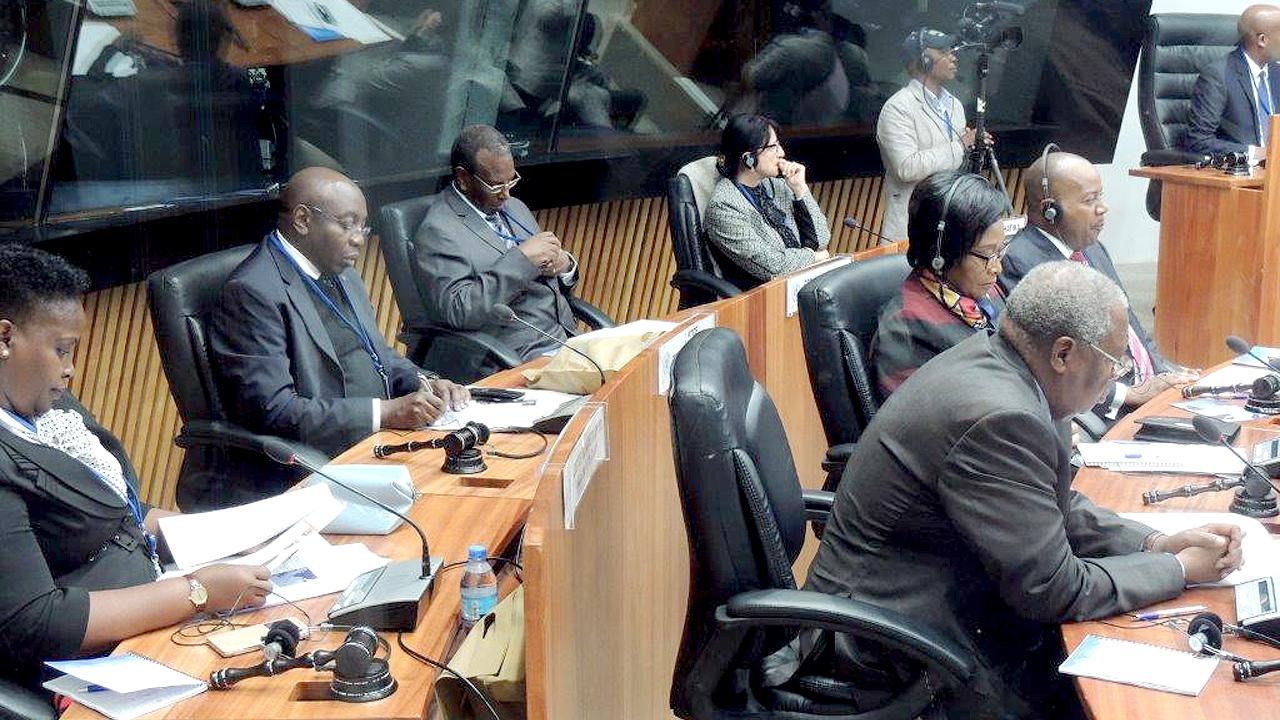 Judges participating in the Colloquium session