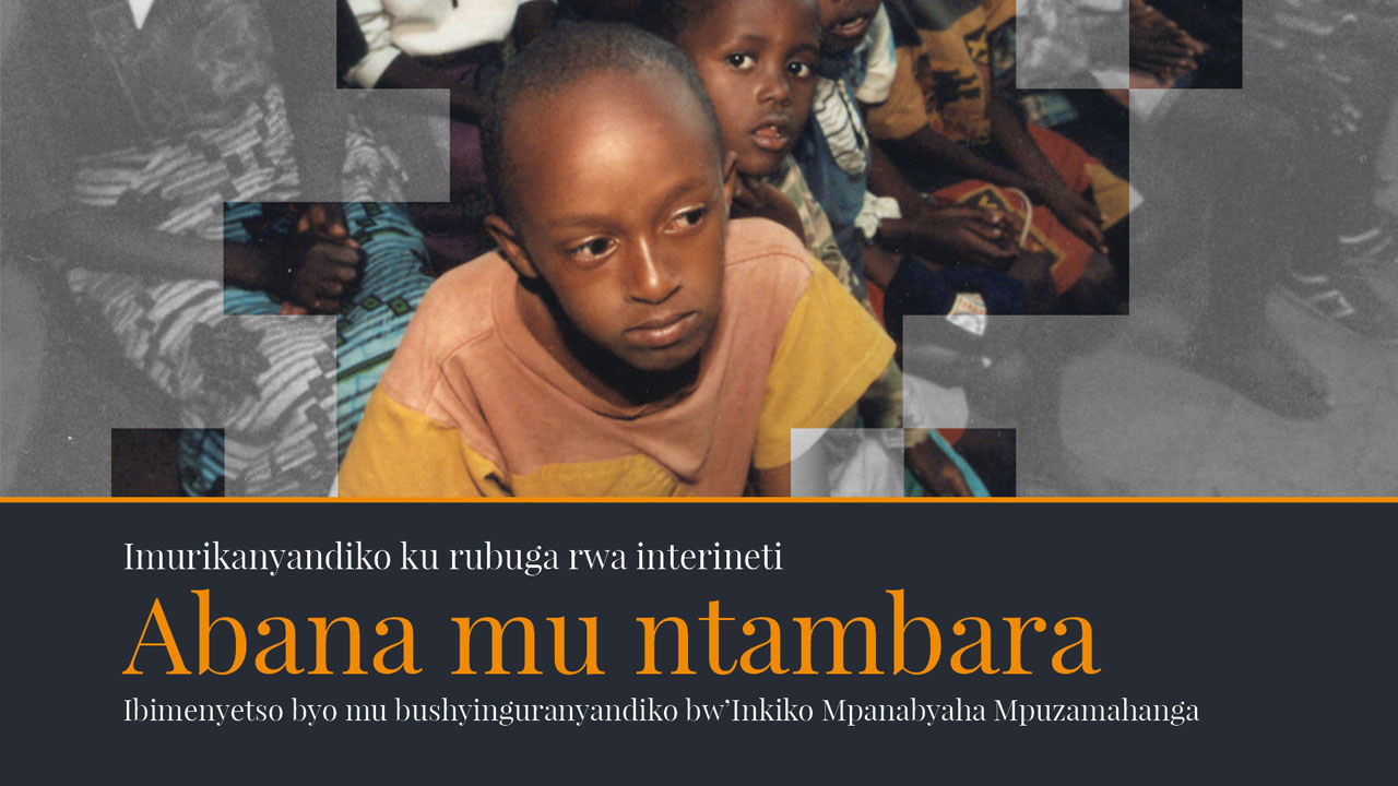 Abana mu ntambara – Ibimenyetso byo mu bushyinguranyandiko bw'Inkiko Mpanabyaha Mpuzamahanga