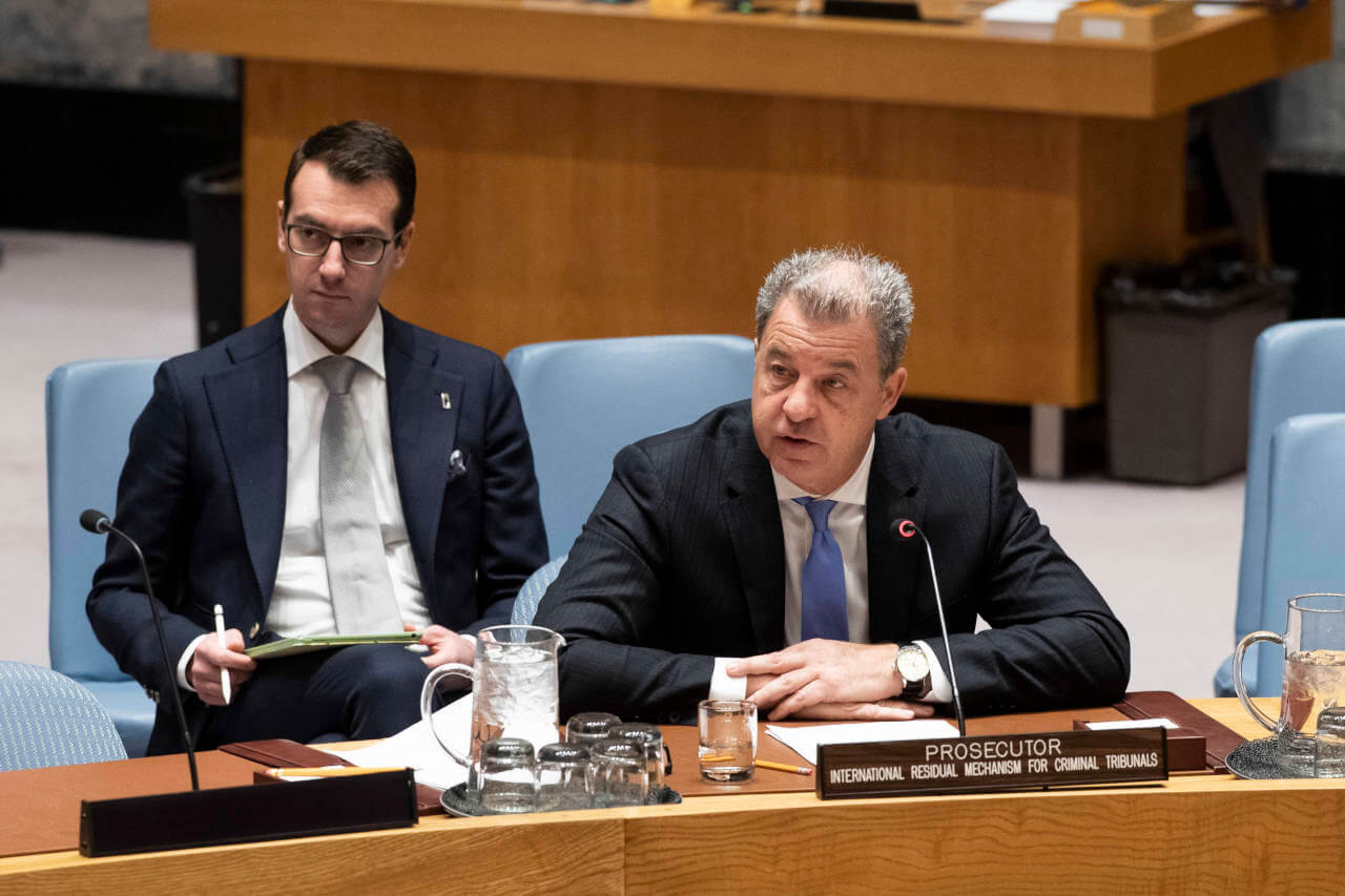 Procureur Serge Brammertz | UN Photo/Evan Schneider