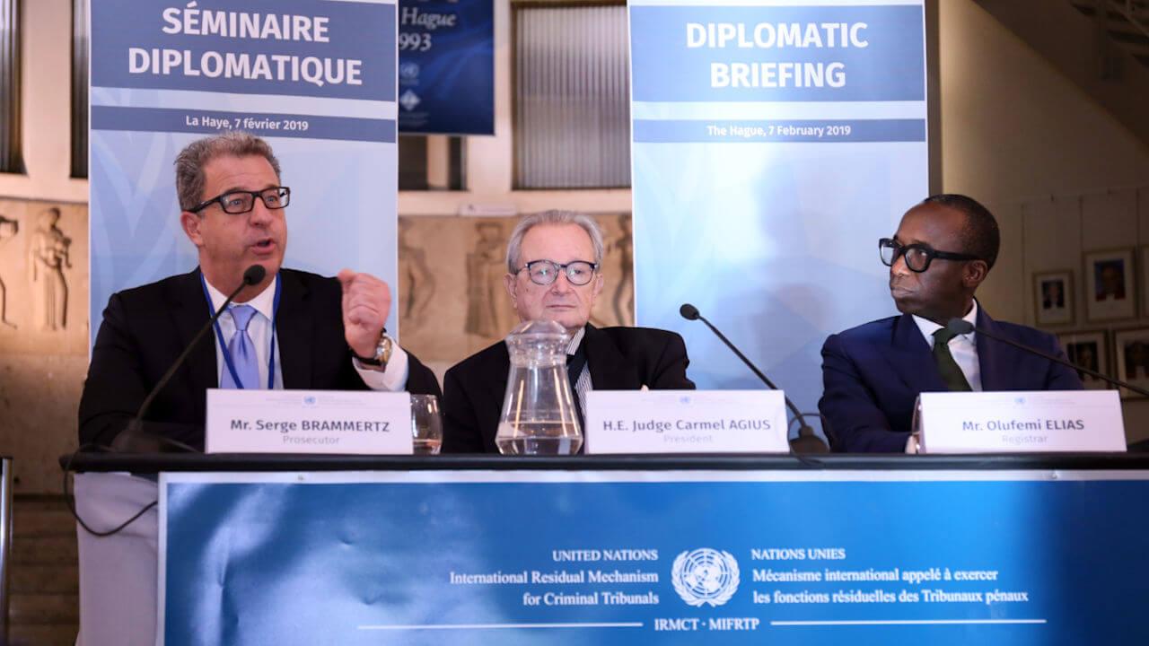 The Principals of the International Residual Mechanism for Criminal Tribunals