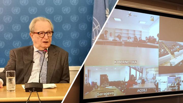 Predsednik Agius održao prvo predavanje interuniverzitetskog programa Mehanizma