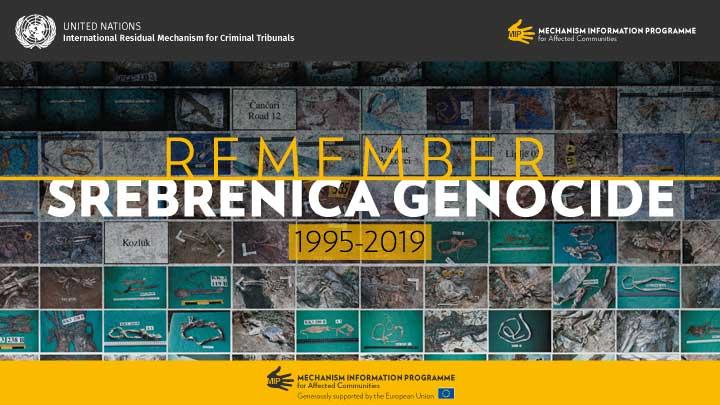 Remember Srebrenica Genocide