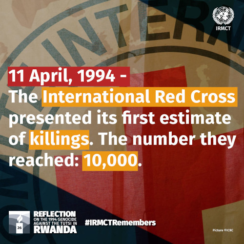 IRMCT Remembers 11 April 1994