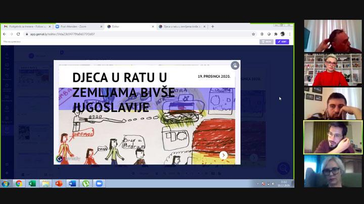Second online workshop held for history teachers in Croatia