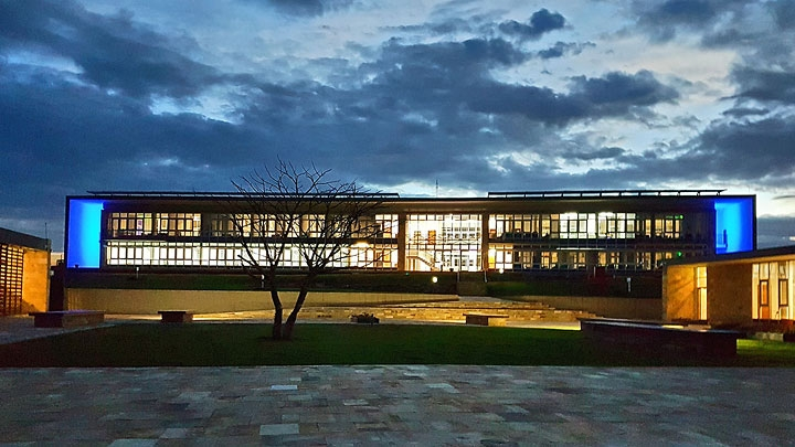 Construction du nouveau bâtiment de la Division d'Arusha